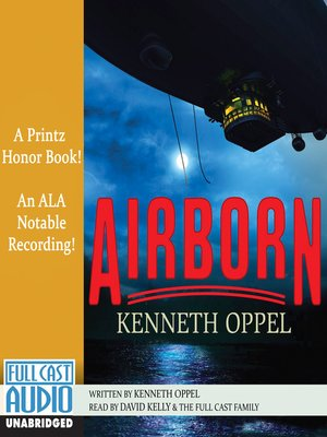 Click this cover for a(n) Audiobook sample of Airborn.