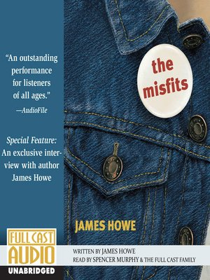 Click this cover for a(n) Audiobook sample of The Misfits.