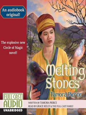 Click this cover for a(n) Audiobook sample of Melting Stones.