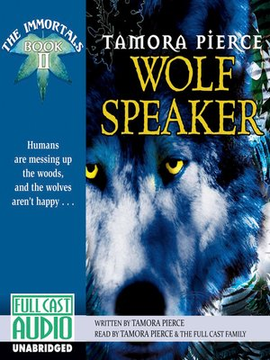 Click this cover for a(n) Audiobook sample of Wolf Speaker