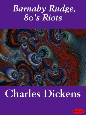 Cover of Barnaby Rudge, 80's Riots
