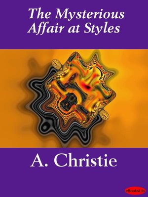 Click this cover for a(n) eBook sample of The Mysterious Affair at Styles