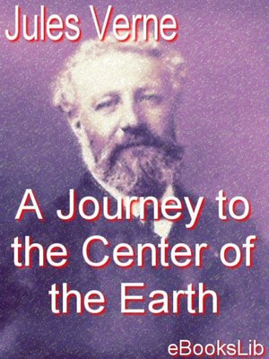 Click this cover for a(n) eBook sample of A Journey to the Center of the Earth