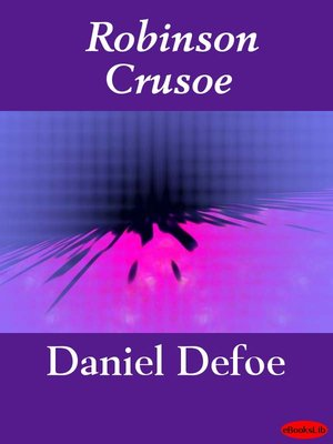 Click this cover for a(n) eBook sample of Robinson Crusoe.
