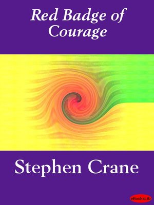 Click this cover for a(n) eBook sample of The Red Badge of Courage.