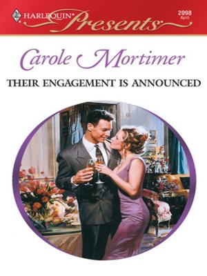 Click this cover for a(n) eBook sample of Their Engagement Is Announced
