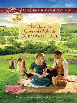 Cover of The Baron's Governess Bride