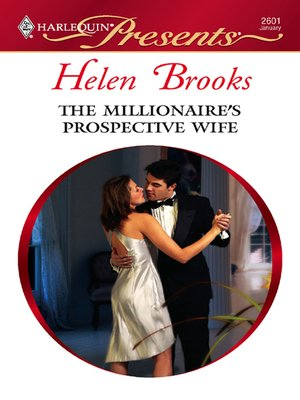 Click this cover for a(n) eBook sample of The Millionaire's Prospective Wife.