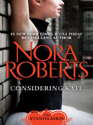 Click this cover for a(n) eBook sample of Considering Kate.