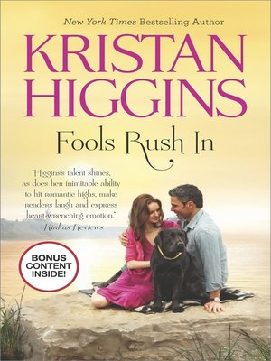 Click this cover for a(n) eBook sample of Fools Rush In.