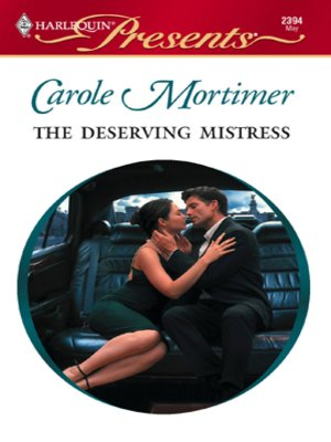 Cover of The Deserving Mistress