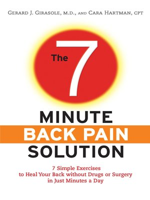 Click this cover for a(n) eBook sample of The 7-Minute Back Pain Solution.