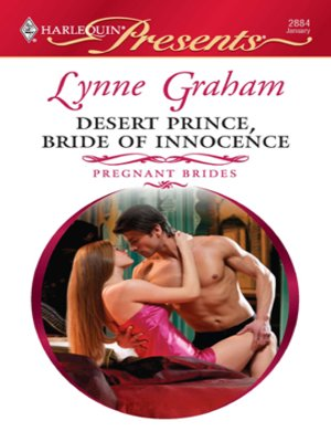 Cover of Desert Prince, Bride of Innocence