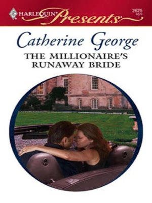 Cover of The Millionaire's Runaway Bride