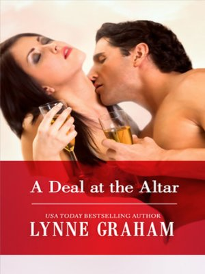 Click this cover for a(n) eBook sample of A Deal at the Altar