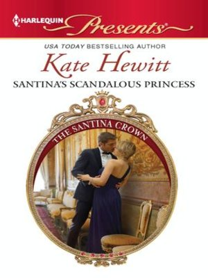 Cover of Santina's Scandalous Princess