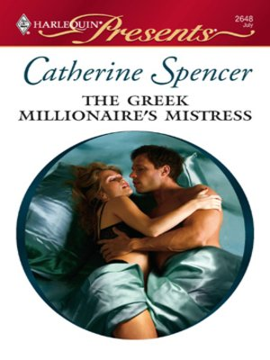 Cover of The Greek Millionaire's Mistress