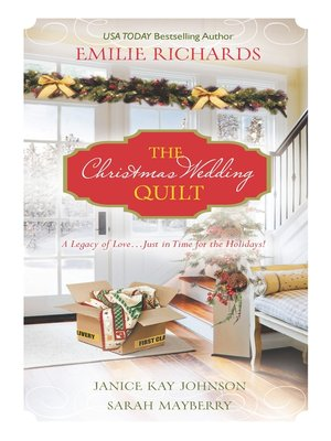 Click this cover for a(n) eBook sample of The Christmas Wedding Quilt: Let It Snow\You Better Watch Out\Nine Ladies Dancing.