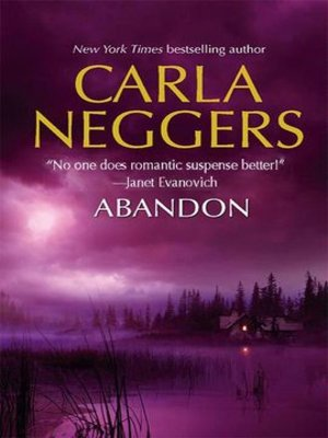 Click this cover for a(n) eBook sample of Abandon