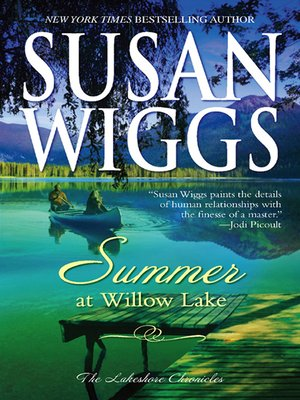 Click this cover for a(n) eBook sample of Summer at Willow Lake
