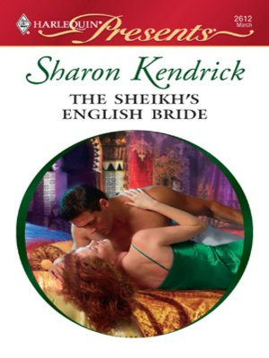 Click this cover for a(n) eBook sample of The Sheikh's English Bride