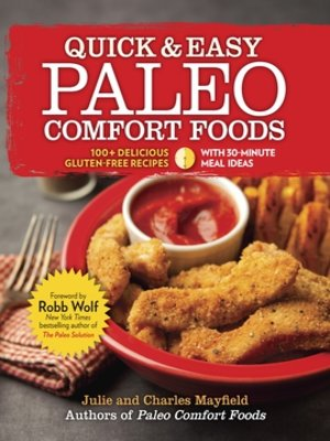 Click this cover for a(n) eBook sample of Quick & Easy Paleo Comfort Foods.