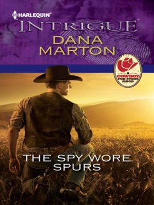 Click this cover for a(n) eBook sample of The Spy Wore Spurs.