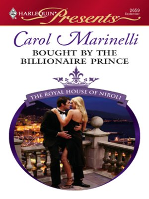 Click this cover for a(n) eBook sample of Bought by the Billionaire Prince.