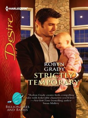 Click this cover for a(n) eBook sample of Strictly Temporary.