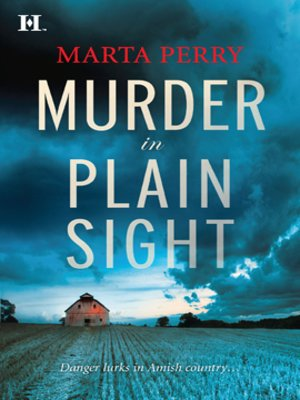 Click this cover for a(n) eBook sample of Murder in Plain Sight.
