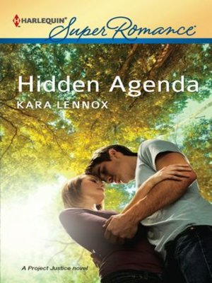 Click this cover for a(n) eBook sample of Hidden Agenda.