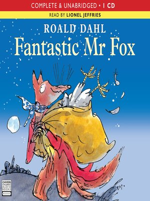 Click this cover for a(n) Audiobook sample of Fantastic Mr Fox.