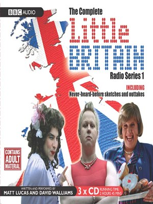 Click this cover for a(n) Audiobook sample of Little Britain, Series 1.