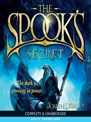 Click this cover for a(n) Audiobook sample of The Spook's Secret.