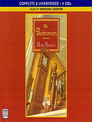 Click this cover for a(n) Audiobook sample of The Borrowers.