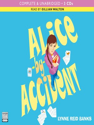 Click this cover for a(n) Audiobook sample of Alice by Accident