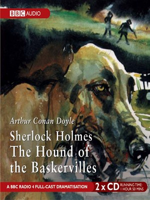 Click this cover for a(n) Audiobook sample of Sherlock Holmes The Hound of the Baskervilles.