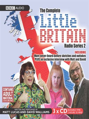 Click this cover for a(n) Audiobook sample of Little Britain, Series 2.