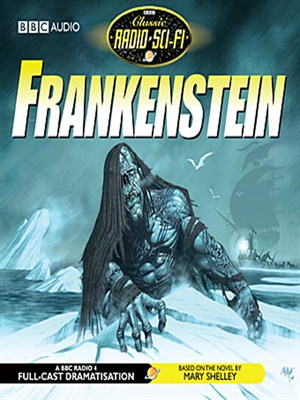 Click this cover for a(n) Audiobook sample of Frankenstein
