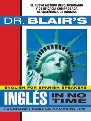 Click this cover for a(n) Audiobook sample of Dr. Blair's Ingles In No Time.