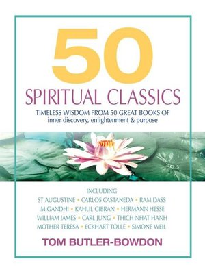 Click this cover for a(n) Audiobook sample of 50 Spiritual Classics.