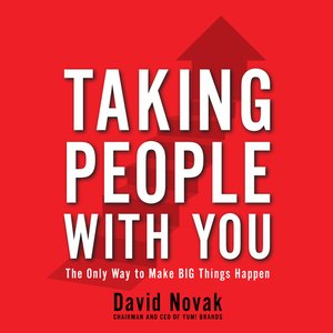 Click this cover for a(n) Audiobook sample of Taking People With You.