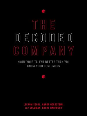 Click here to view Audiobook details for The Decoded Company by Leerom Segal