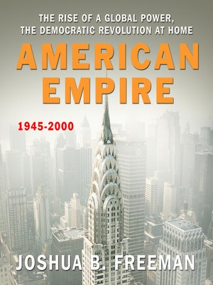 Click this cover for a(n) Audiobook sample of American Empire