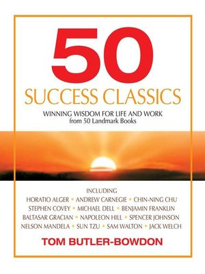 Click this cover for a(n) Audiobook sample of 50 Success Classics