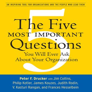Click here to view Audiobook details for The Five Most Important Questions by Peter F. Drucker