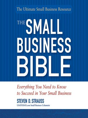 Cover image for The Small Business Bible