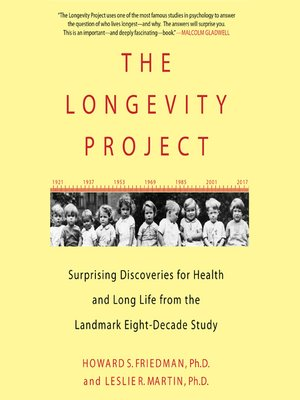 Click this cover for a(n) Audiobook sample of The Longevity Project.