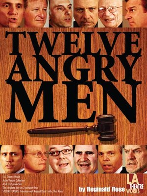 Click this cover for a(n) Audiobook sample of Twelve Angry Men.