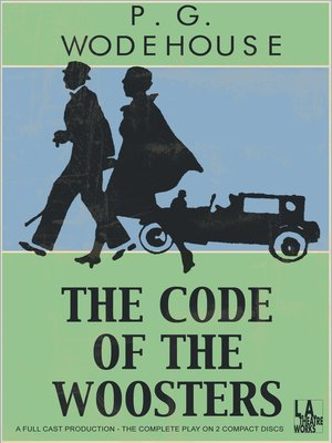 Click this cover for a(n) Audiobook sample of The Code of Woosters
